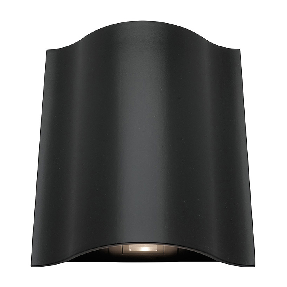 arch led up and down wall light mercator. Black Bedroom Furniture Sets. Home Design Ideas