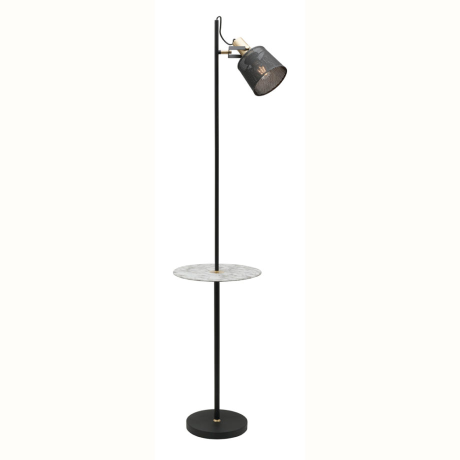 Arizona 1Lt Floor Lamp with Table image