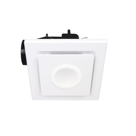 Emeline-II Small Square Exhaust Fan with LED Light image