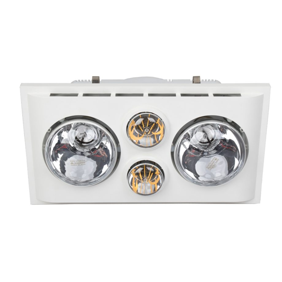 Lava Duo LED Bathroom Heater with Exhaust & Light image