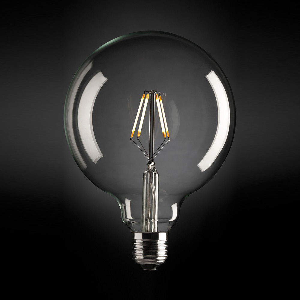 Large Sphere 125 Dimmable LED Fancy Globe image