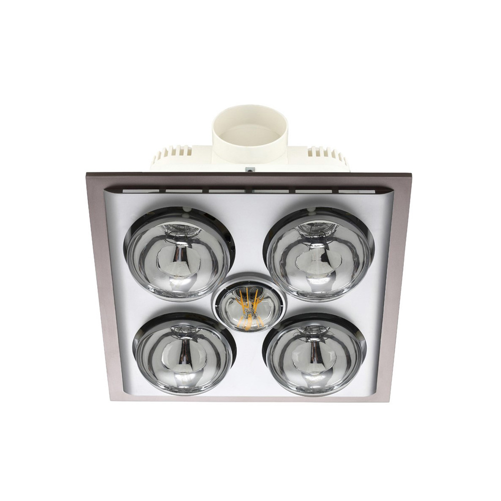 Lava Quattro Bathroom Heater with Exhaust and Light image