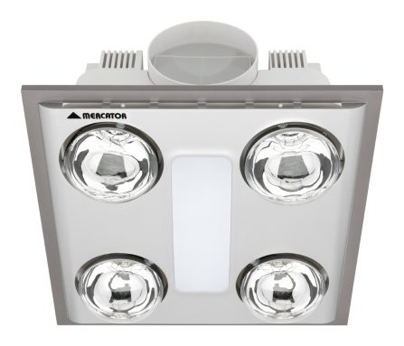 Cosmo Quattro Bathroom Heater with LED image