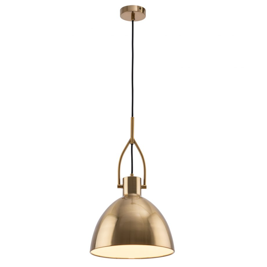 Terrence Pendant Brushed Brass image